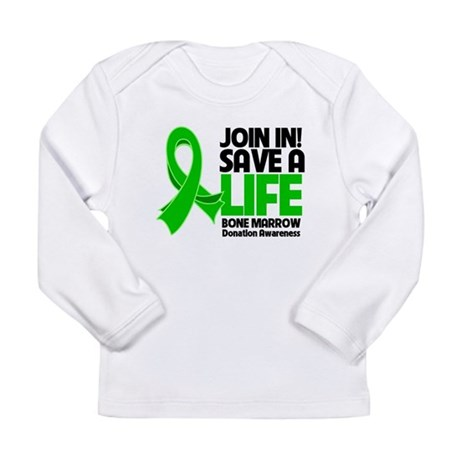 Save a Life Bone Marrow Long Sleeve Infant T-Shirt