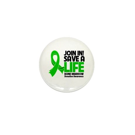 Save a Life Bone Marrow Mini Button