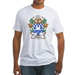 Phypoe Coat of Arms Fitted T-Shirt