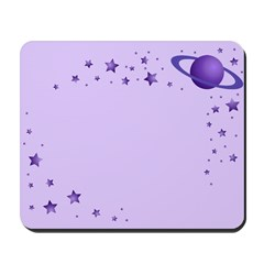 Planet with Stars Mousepad