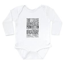 I Love NY Long Sleeve Infant Bodysuit