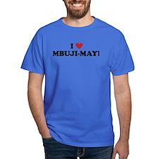 I Love Mbuji-Mayi T-Shirt