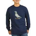 American Show Racer Hen Long Sleeve Dark T-Shirt