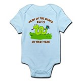 Born Year of The Snake 2013  Baby Onesie