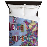 Magic Is Believing in Yourself Queen Duvet