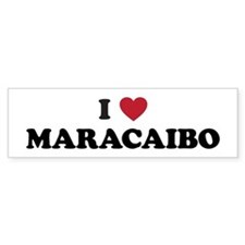 I Love Maracaibo Bumper Sticker