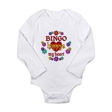 BINGO Happy Long Sleeve Infant Bodysuit