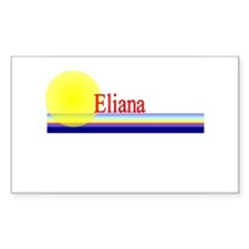 Eliana Rectangle Decal