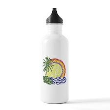 Vintage Summer Water Bottle