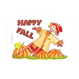 Cute Scarecrow Wall Decal