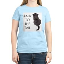 talk to the tail Women's Pink T-Shirt