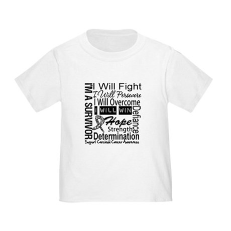 Carcinoid Cancer Persevere Toddler T-Shirt