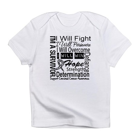 Carcinoid Cancer Persevere Infant T-Shirt