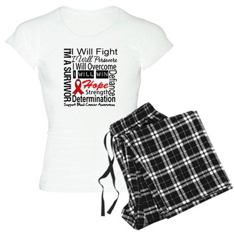 Blood Cancer Persevere Women's Light Pajamas