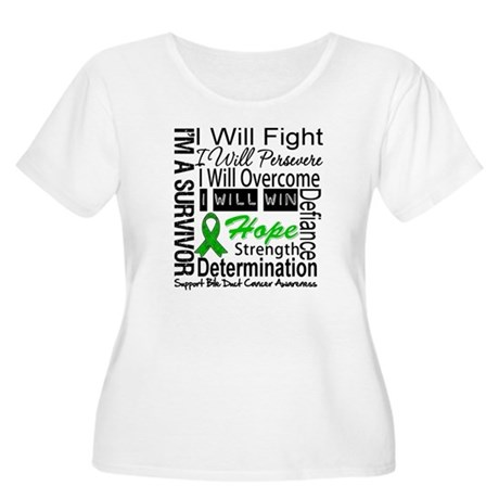 Bile Duct Cancer Perseverance Women's Plus Size Sc