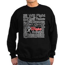 Brain Cancer Persevere Sweatshirt
