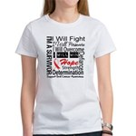 Oral Cancer Persevere Women's T-Shirt