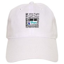 Thyroid Cancer Persevere Baseball Cap