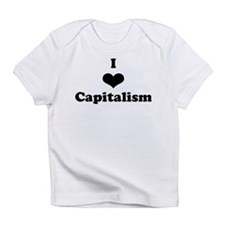 I Heart Capitalism Infant T-Shirt