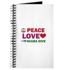 Peace Love Scuba Dive Designs Journal