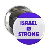 """Israel is Strong"" 2.25"" Button (100 pack)"