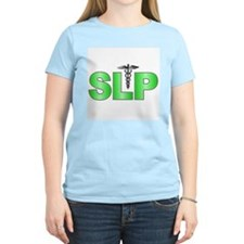 SLP Green  Women's Pink T-Shirt