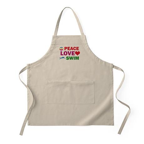 Peace Love Swim Designs Apron