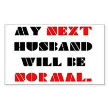 My next HUSBAND will be normal Decal