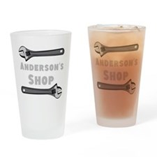 Personalized Shop Drinking Glass