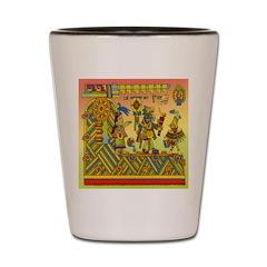 Aztec Shot Glass