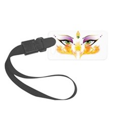 Belly Dance Shimmy Chic Small Luggage Tag