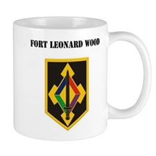 Fort Leonard Wood with Text Mug