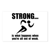 Running Strong Postcards (Package of 8)