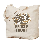 Beagle Mom (Worlds Best) Tote Bag