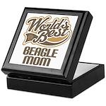 Beagle Mom (Worlds Best) Keepsake Box