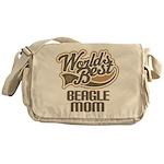 Beagle Mom (Worlds Best) Messenger Bag
