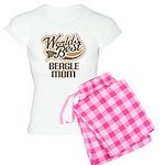 Beagle Mom (Worlds Best) Women's Light Pajamas