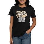 Beagle Mom (Worlds Best) Women's Dark T-Shirt