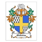 Osborne Coat of Arms Small Poster