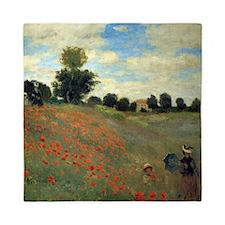 Monet Wild Poppies (detail) Queen Duvet