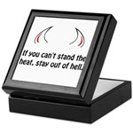 Stay Out Of Hell Keepsake Box