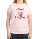Irene On Fire Women's Light T-Shirt