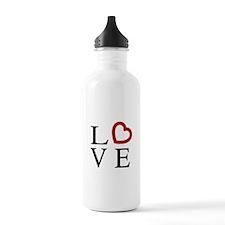 Love Logo Water Bottle