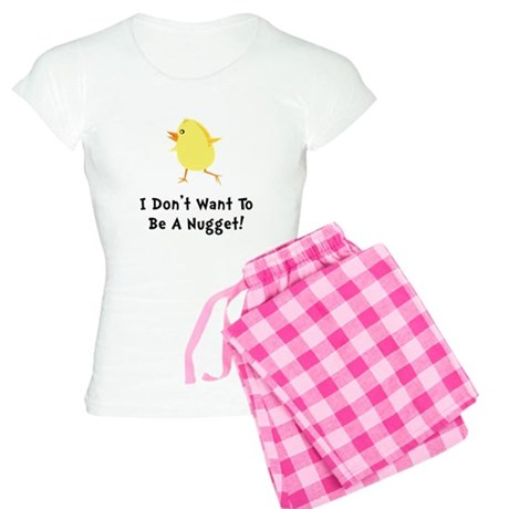 Chicken Nugget Women's Light Pajamas