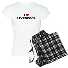 I Love Liverpool Pajamas