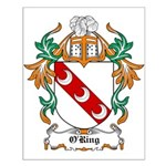 O'Ring Coat of Arms Small Poster