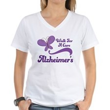 Alzheimers Walk For A Cure Shirt