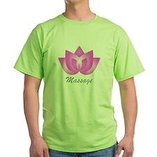 Massage Lotus Flower T-Shirt