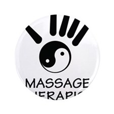 "Yin-Yang Massage Hand 3.5"" Button"