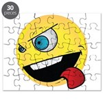 Intense Smiley Face Puzzle